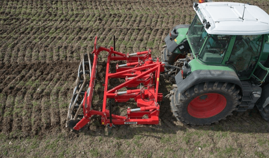 Woeler met vast frame en hydraulische obstakelbeveiliging, type Java